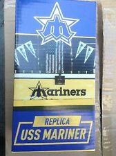 REPLICA USS MARINER DAY FEATURES SEATTLE MARINERS HR CANNON 7/29/17