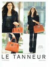 PUBLICITE ADVERTISING 027  2012   sac  Nina Le Tanneur &  Julie Erhard