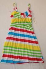 NEW Girls Sun Dress XL 12 - 14 Sleeveless Striped Soft Spring Summer Easter