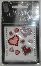Assorted Hearts Cell Phone Sticker Mobile Ice iPhone Sticker iPod Decal MOI002