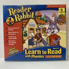 Tested PC/Mac CD-Rom Game - Reader Rabbit Learn to Read with Phonics - Free S&H