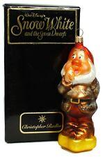Sneezy 97 DIS 29 Snow White Seven Dwarfs Christopher Radko Christmas Ornament