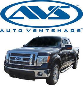 AVS 92741 Tape-On Window Ventvisors 2 Pc 2004-2014 Ford F-150 Super Crew