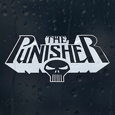 The Punisher Car Decal Vinyl Sticker