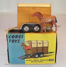 Corgi Toys 102 Rice`s Pony Trailer with Pony in OVP #5398