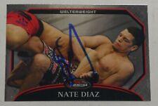Nate Diaz Signed 2011 Topps Finest UFC Card #37 Autograph 94 111 118 129 135 141