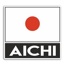 2 x 10cm Aichi Japan Vinyl Stickers - Fun Travel Sticker Laptop Luggage #33023