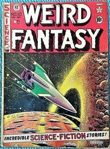 Weird Fantasy #10 Nov-Dec 1951! VERY GOOD! $.99 Start! NICE-LOOKING! It's an EC!