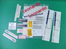 APRILIA LEONARDO 150 SET ADESIVI CARENE STICKER FAIRING DECAL ADESIVO DECALS