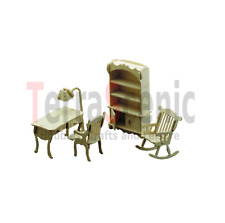 Dolls House Furniture Kit 1:12 Scale Study