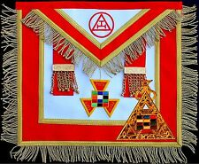 MASONIC ROYAL ARCH PAST HIGH PRIEST APRON PHP HAND EMBROIDERED + NEW Pendant