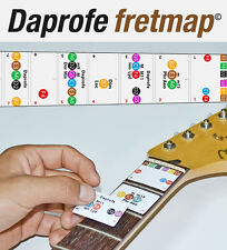 Daprofe Electric Guitar Fretboard Stickers Neck Note Map Decal Also fit Acoustic