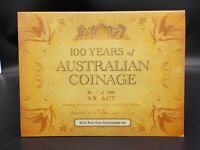 2010 100 Years of Australian Coinage - 4 Coin $1 UNC Privy Mark Set - CBMS