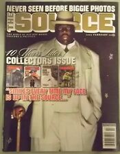 The Source February 2007 Notorious B.I.G BIG Trick Daddy Rap NO LABEL Free Bonus