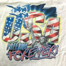 EUC Vintage Freedom Forever Make America Great Again Donald Trump USA President