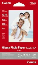 """Canon new Glossy Photo Paper 4""""x6"""" (100 Sheets)"""