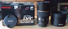 Pentax DA* 200mm F2.8 ED IF SDM Lens
