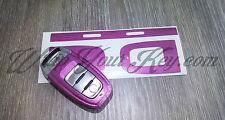 Rosa Glitter Gloss CHIAVE Wrap cover telecomando intelligente AUDI a1 a3 a4 a5 a6 a8 TT q3 5 q7