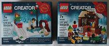 LEGO® Creator 40106 Spielzeug-Werkstatt  & 40107  Promo  Neu & OVP Christmas toy