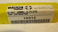 """WALTON 10314  5/16"""" (8MM) TAP EXTRACTOR 4 FLUTE MADE IN USA **FAST SHIPPING**"""
