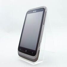HTC Radar PI06100 Metal Plata Libre Móvil Muy Buen Estado Händlerware