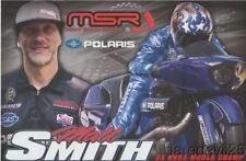 2017 Matt Smith Polaris Pro Stock Motorcycle Psm Nhra postcard