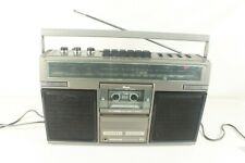 GE 3-5252B, vintage ,AM/FM radio,cassette. (ref D 432)