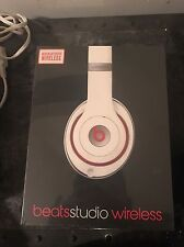 Beats by Dr. Dre Studio Wireless Headband Wireless Headphones - White