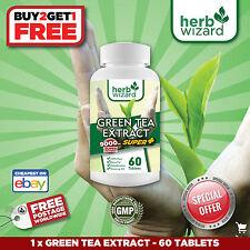 Green Tea 9000mg -high strength fat burner, weight loss- (60 tablets)