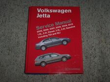 2008 Volkswagen VW Jetta Sedan Shop Service Repair Manual S SE SEL Wolfsburg