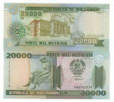 MOZAMBIQUE 20000 METICAIS 1999 PICK 140 UNC