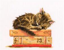 "Counted Cross Stitch Kit RTO - ""Cat's dream"""