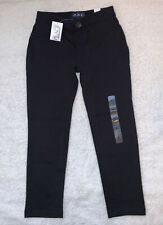 The Children's Place Girls Black Jeggings Pull On Pants Back Pockets Sz 5