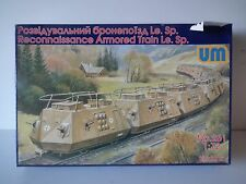 UM RECONNAISSANCE ARMORED TRAIN Le. Sp.model kit - 1/72 scale - 261