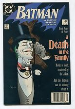 BATMAN #429 (Grade 8.0) A DEATH IN THE FAMILY! BOOK 4/4! 1988 SIGNED BY MIGNOLA!