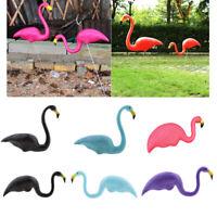 Plastic Flamingo Decor Lawn Figurine Home Garden Party Wedding Decoration 5 Type