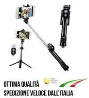Cavalletto JOURNEY asta selfie bluetooth treppiedi 120cm Samsung Galaxy A50 J4T