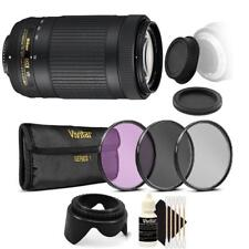 Nikon AF-P DX NIKKOR 70-300mm f/4.5-6.3G ED VR Lens with Accessory Bundle