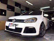 CARBON FRONT LIP SPOILER BS STYLE FOR VW VOLKSWAGEN GOLF 6 VI MK6 R20 R