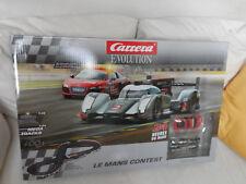 Carrera- Evolution Le Mans Contest Rennbahn NEU & OVP