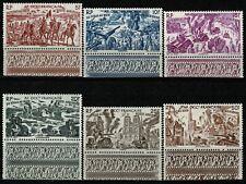 AFRIQUE OCCIDENTALE 1946  TCHAD au RHIN  PA n° 5 à 10 neufs ★★ Luxe / MNH BDF(S)
