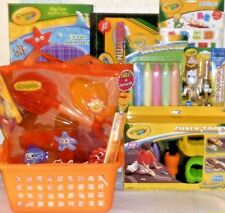 NEW CRAYOLA EASTER TOY GIFT BASKET SUPPLIES outdoor toys sand chalk PLAYSET