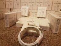 2m ORIGINAL GENUINE Apple Lightning USB Data Charger Cable iPhone 6 6S 7 Plus 5