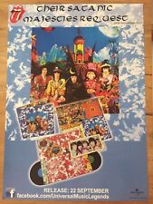 ROLLING STONES - THEIR SATANIC MAJESTIES REQUEST -PROMO POSTER 50th ann. LP/ DVD