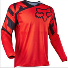 Cycling Mens 180 Race Dirt Jersey ATV MX Off-road Motocross MTB Mountain Bike8 L Red Balck