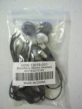 Blackberry Stereo Headset HDW-13019-001 - BRAND NEW IN SEALED BAG !!