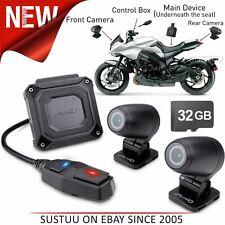 Mio MiVue M760D 32GB Dual GPS Dash Cam│Motorbike Front/Rear Camera│Full HD 1080p