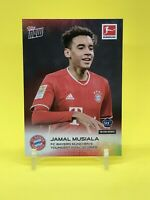 Jamal Musiala Topps Rookie Card Short Print of 5,104 FC Bayern In Hand