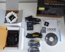 Nikon D5000 w/ 18-55mm Lens Kit MINT condition w/ Original Box and asseciories