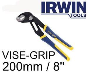 """Irwin Vise Grip GV8  GrooveLock Water Pump Pliers 8"""" / 200mm 10507627"""